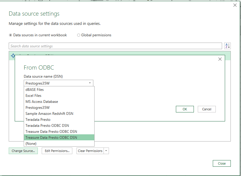 Migrating to Presto ODBC Driver | Treasure Data