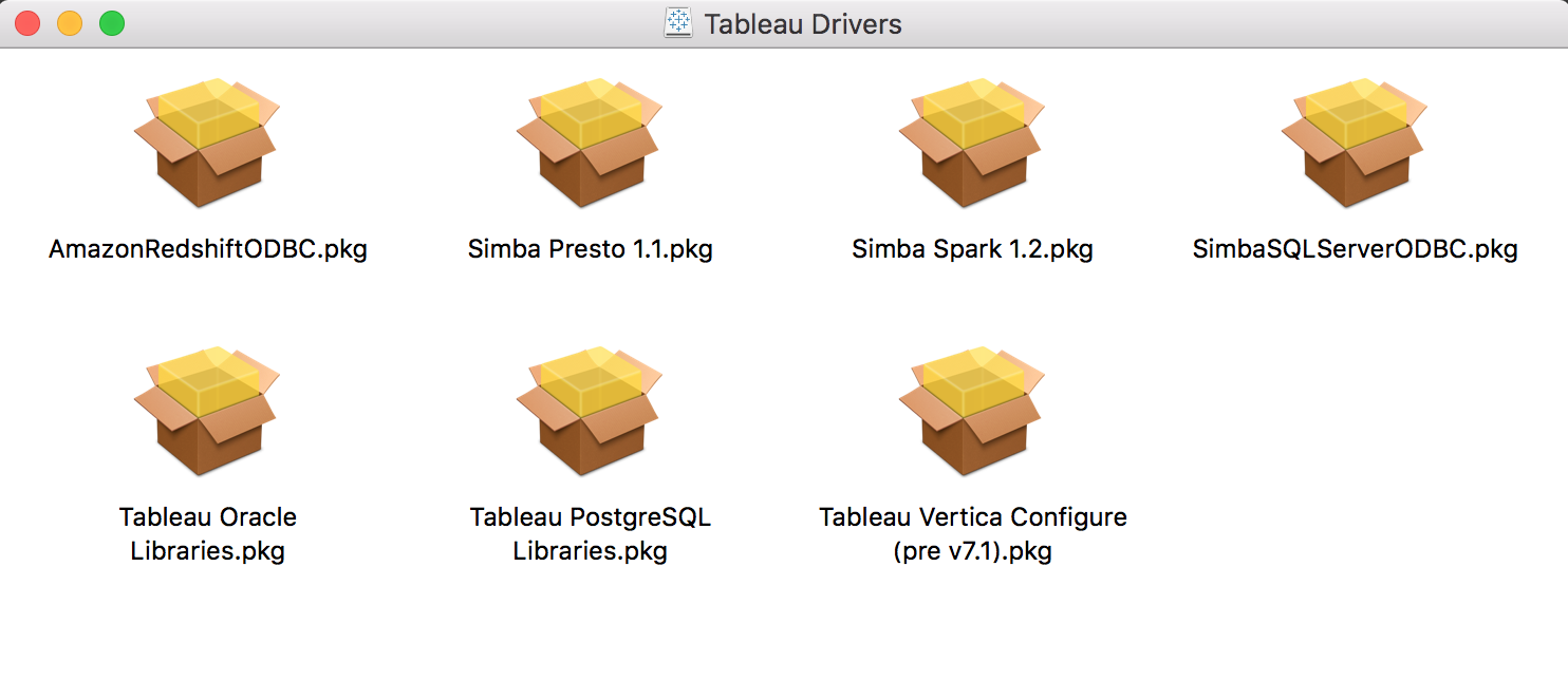 Tableau Desktop for Mac (Experimental) – Arm Treasure Data